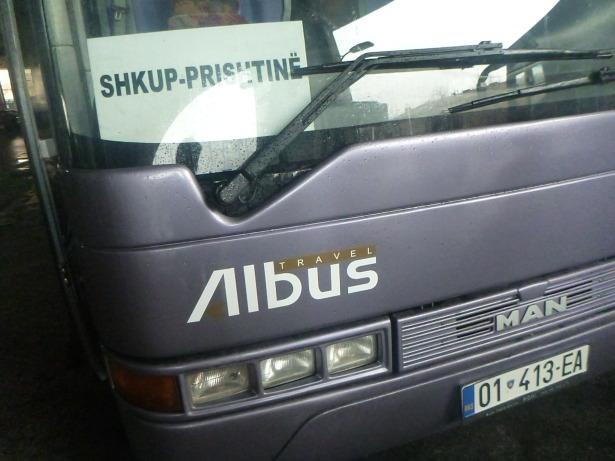 World Borders: The Bus From Macedonia to Kosovo.