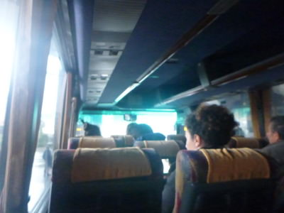 The bus to Blace, Macedonia to Kosovo border.