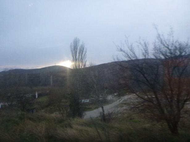 Wilderness drive north of Skopje, Macedonia.