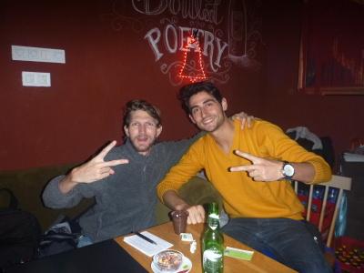Half and Half bar in Pristina.