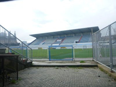 Football Stadium in Pristina, Kosovo.