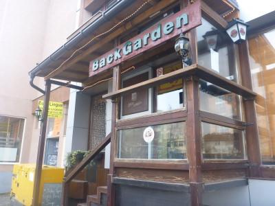 Back Garden bar, Pristina.