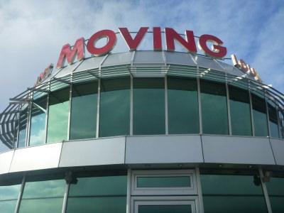 Moving Restaurant in Pristina, Kosovo.