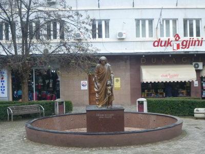 Mother Teresa Statue.