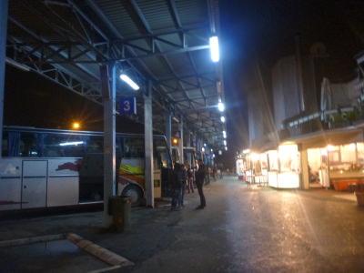 Close to the bus station in Pristina, Kosovo.