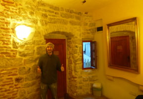 Staying in the Old Town Hostel in Kotor, Montenegro.