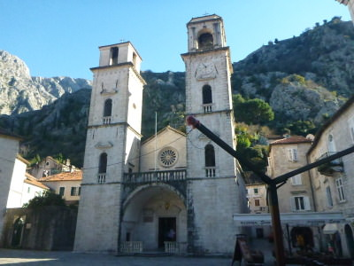 Old Town Kotor - St. Tryphon's Cathedral.