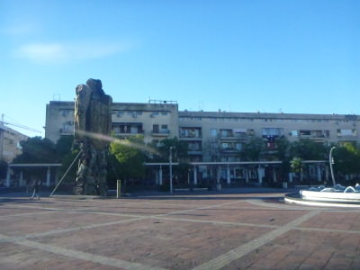 Trg Republike - Republic Square in Podgorica.