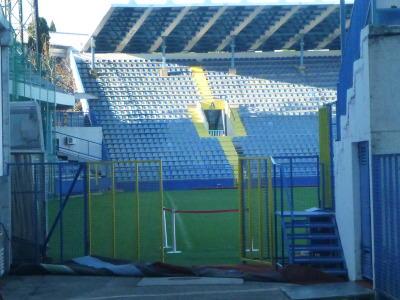 Gradski Stadion, Podgorica, Montenegro.
