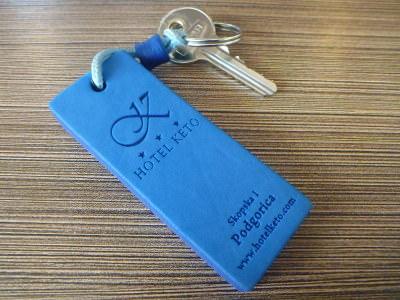 My room key - room 9.