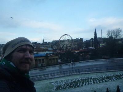 My first visit to Edinburgh, Scotland.
