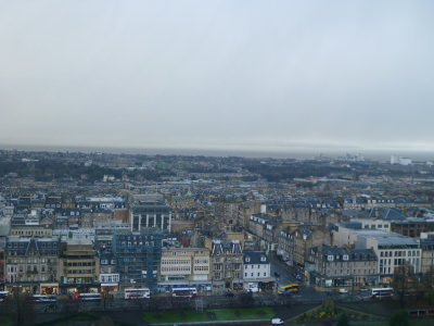 A great view of Edinburgh, Scotland's capital city.