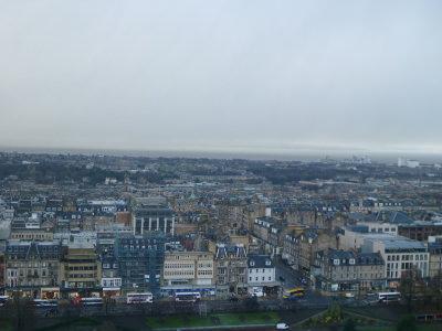 A great view of Edinburgh, Scotland's capital city.