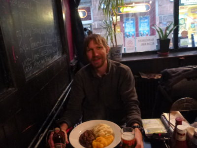 Friday's Featured Food: Haggis, tatties and neeps in Edinburgh, Scotland.