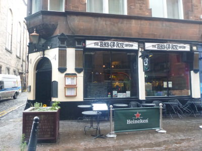 The Black Rose Tavern - venue for the Haggis, Tatties and Neeps!