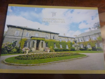 Special Occasions at the Doxford Hall.