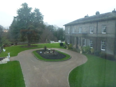 Doxford Hall Hotel and Spa in Northumberland countryside.