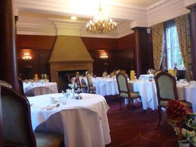 Dining room for breakfast.