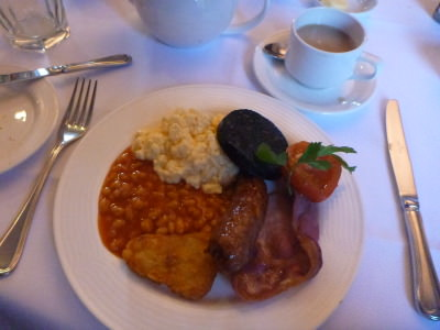 fried breakfast doxford hall