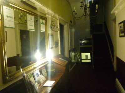 Hallway at the Chaise.