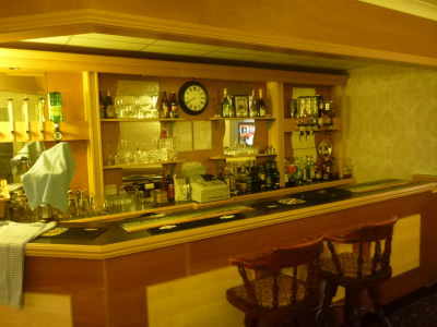 Fully licensed bar at The Chaise Guest House, Sunderland.