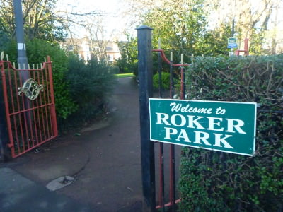 Roker Park - in the Roker area where the football stadium Roker Park once was.