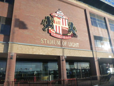 Stadium of Light, home of Sunderland AFC.