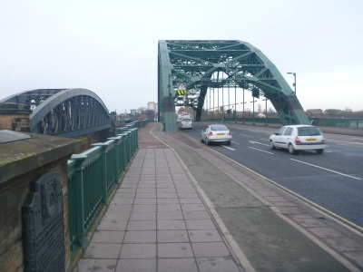 Main Bridge over the Wear River.