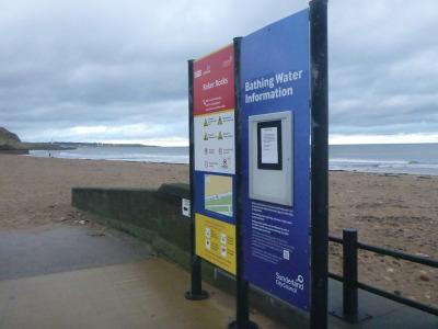 Roker Beach, Sunderland.