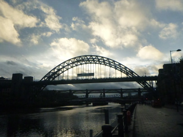Newcastle Upon Tyne, England - venue for the 20 year Paddy Campbell reunion.