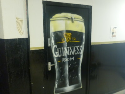 My personal favourite!! The Guinness Room!