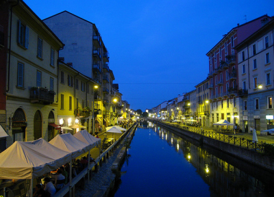 Canals of Milan