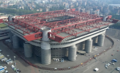 The San Siro - home of AC Milan and Inter Milan.