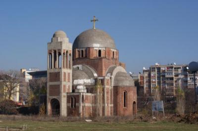 Serbian Church in Kosovo's capital city.