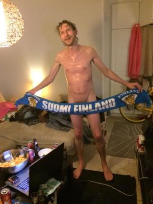 naked suomi sauna