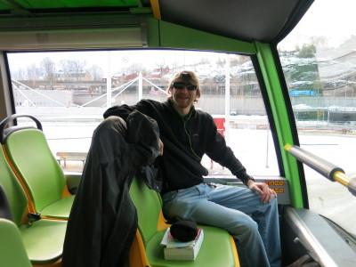 Taking a Hop On Hop Off Tour of Stockholm, Sweden.