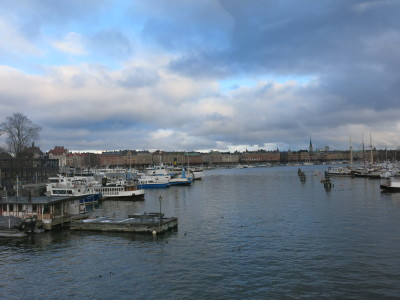 Stockholm, Sweden - more water than land.