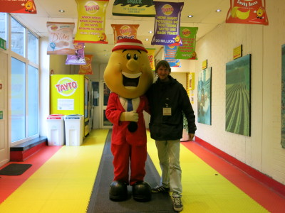 Meeting Mr. Tayto himself!!