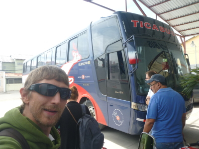 Leaving Tegucigalpa, Honduras.