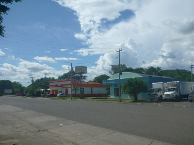 Nicaraguan side of the border.