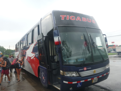 Arrival on the edge of Leon, Nicaragua.