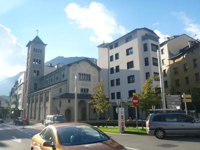 Backpacking in Andorra - Escaldes Engordany