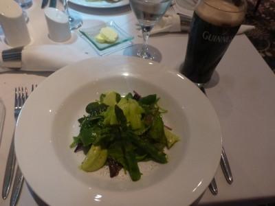 Wren's Summer Green Vegetable Salad