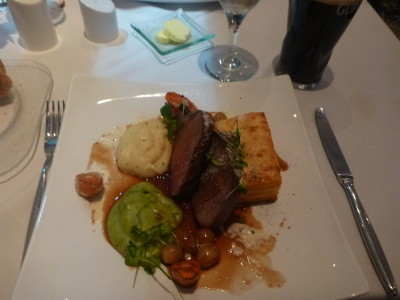 My main course - the beef fillet