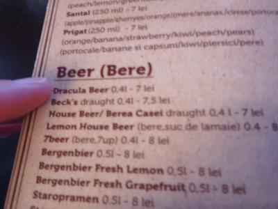 Dracula Beer