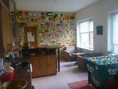Staying at the Monk's Bunk Hostel in Kaunas, Lithuania