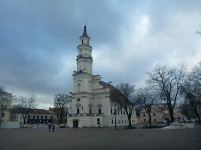 The magnificent Palace of Weddings in Kaunas, Lithuania