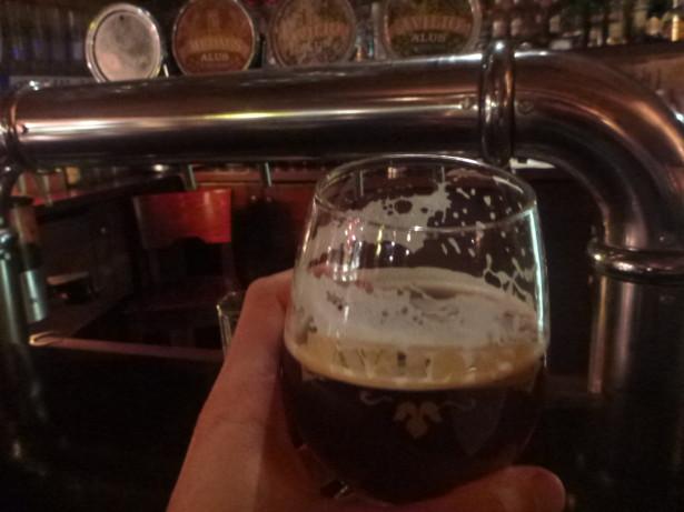 Excellent Honey Beer at Avilys.