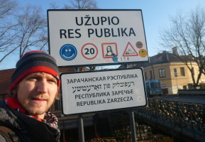 World Borders: Crossing into the Republic of Uzupis.