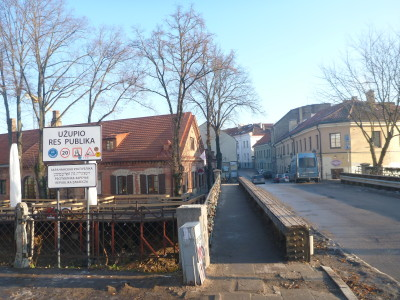 The bridge to the Republic of Uzupis